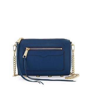 Rebecca Minkoff Crossbody Bag in Saffiano Leather